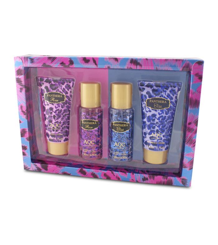 Acheter Aqc Fragrances Ensemble Cadeau Panthera Rose Blue