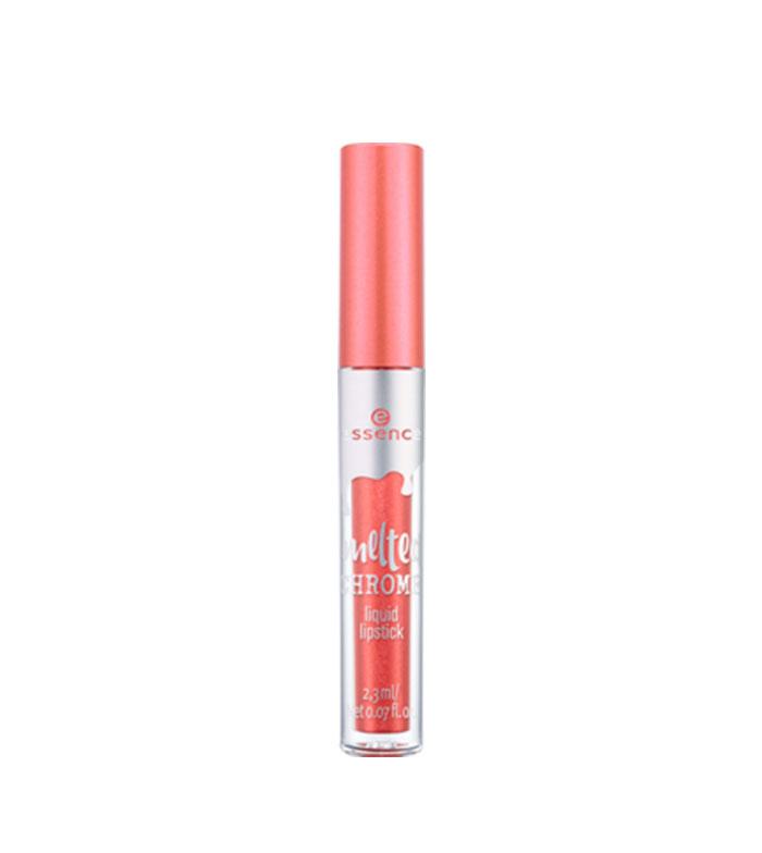 MaquiBeauty essence – Rouge à lèvres liquide Melted Chrome – 03: Copper dropper