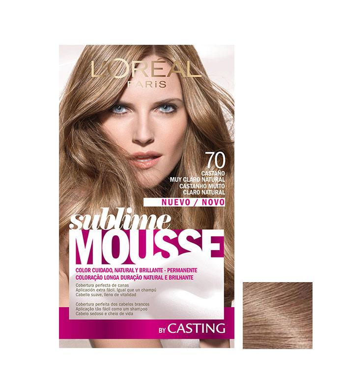 Mousse pour la coloration des cheveux Loreal