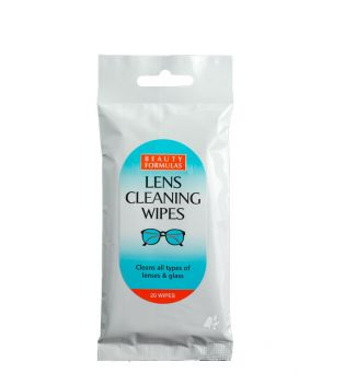 Beauty Formulas - Lens Cleaning Wipes