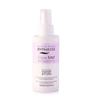 Byphasse - Brume visage Face Mist Re-Hydrating - Peaux grasses et mixtes