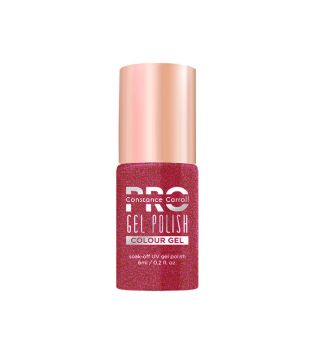 Constance Carroll Pro - Vernis à ongles Hybrid Colour Gel - 030G: Cherry with Golden Mist