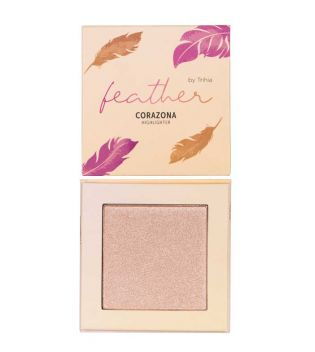CORAZONA - Feather Collection by Trihia - Highlighter en poudre - Touch ma soul
