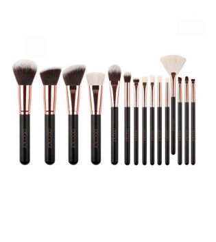 Docolor - Set de brosses Basic (15 pièces) - Rose Gold