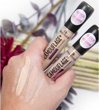 Essence - Correcteur Camouflage+ Healthy Glow - 010: Light ivory
