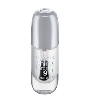 essence - Vernis à ongles Shine Last & Go!  - 01: Absolute Pure