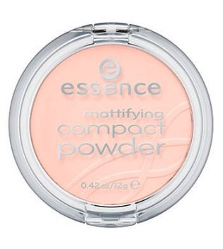 essence - matifying compact powder - 11: pastel beige