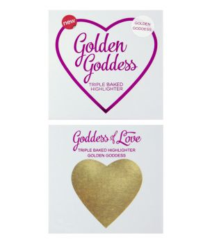 I Heart Makeup - Hearts Highlighter - Golden Goddess