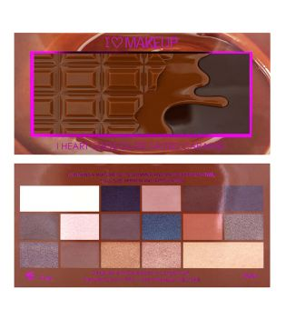 I Heart Makeup - Chocolate Palette - Salted Caramel