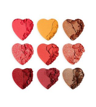 I Heart Revolution - Palette d'ombres Heart Breakers - Courage