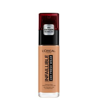 Loreal - Fond de teint Infiaillible 24h Fresh Wear - 275: Ambre Rose