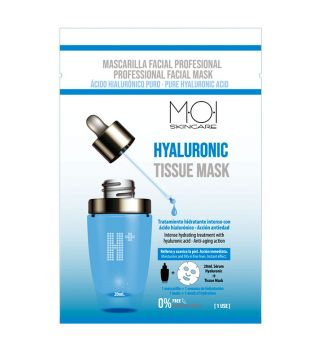 M.O.I. Skincare - Masque professionnel - Acide hyaluronique pur