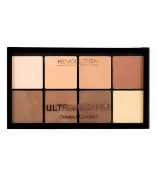 Makeup Revolution - Ultra Pro HD poudre Palette Contour - Light Medium