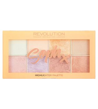 Makeup Revolution - Palette d'highlighters  - Soph X