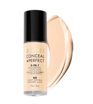 Milani - Fond de teint Conceal+Perfect 2-en-1 - 00: Light Natural