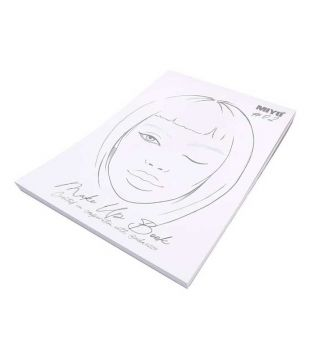 Miyo - Carnet de notes de Face Chart