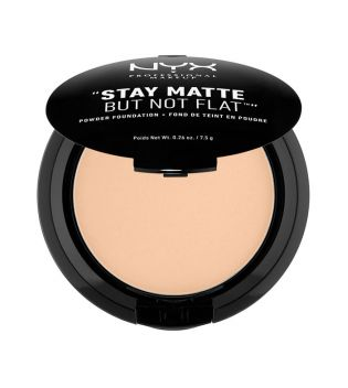 Nyx Professional Makeup - Powder Foundation Stay Matte - SMP07: Warm Beige