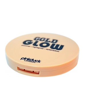 Pinkduck - Strobing Highlighter Powder - Gold Glow