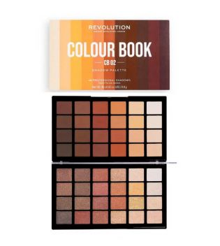 Revolution - Palette dombres Colour Book - CB02