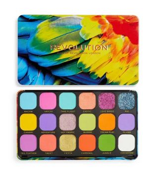 Revolution - Palette de Fards à paupières Forever Flawless - Birds Of Paradise