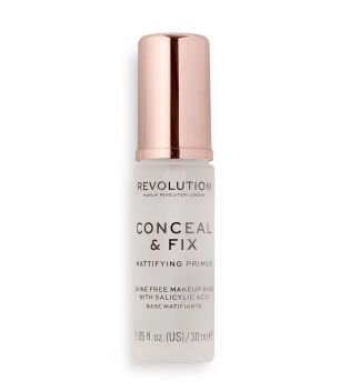 Revolution - Base de teint matifiante Conceal & Fix
