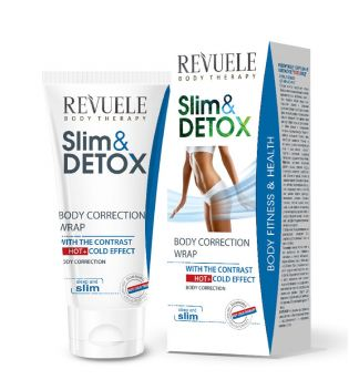 Revuele - Slim & Detox Correcting Body Wrap Hot + Cold Effect