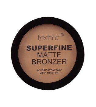 Technic Cosmetics - Poudre bronzante Superfine Matte Bronzer - Light