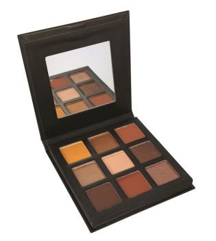 Technic Cosmetics - Palette de Fards à paupières Pressed Pigments - Enticing