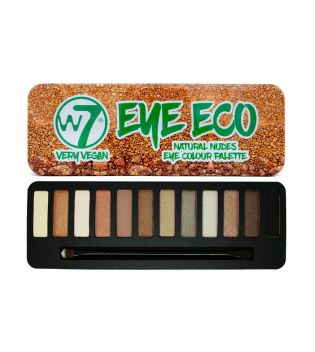 W7 - *Very Vegan* - Palette de fards à paupières Eye Eco