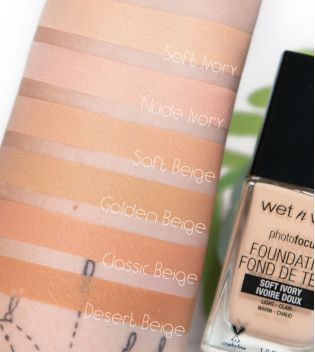 Wet N Wild - Photo Focus Foundation - E365C: Soft Beige